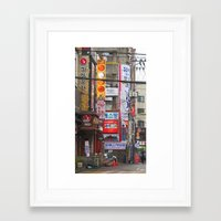korea Framed Art Prints featuring Seoul, Korea by Kimberly Vogel Travel Photographer