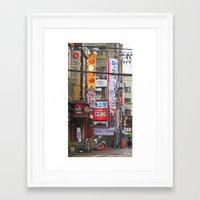seoul Framed Art Prints featuring Seoul, Korea by Kimberly Vogel Travel Photographer