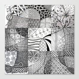 Blog Doodling #2 Canvas Print