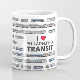 The Transit of Greater Philadelphia Coffee Mug