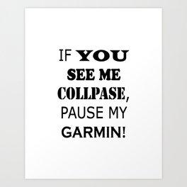garmin Art Print