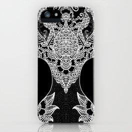 Unity of Halves - Life Tree - Rebirth - Black iPhone Case