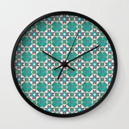 Floor Series: Peranakan Tiles 45 Wall Clock