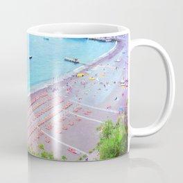 Candy Corn Sunbeds Coffee Mug