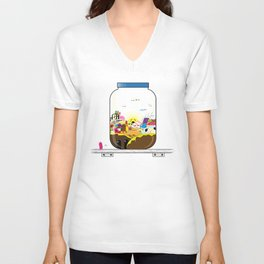 SF Sweet Jar Unisex V-Neck