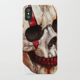 Circus Clown Skull iPhone Case