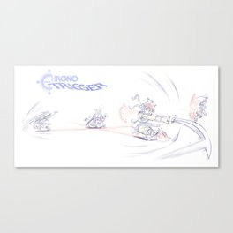Chrono Trigger - Ozzie's in a Jam! Canvas Print