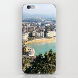 La Concha de San Sebastián iPhone Skin