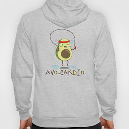 Avo-Cardio Cardio Avocado Gym Workout Hoody