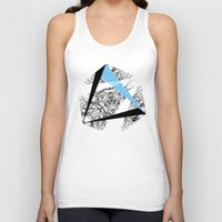 hexagon Tank Tops featuring Hexagon by ADGPC