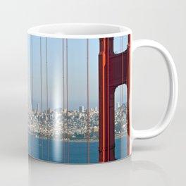 Golden Gate Bridge – Panoramic Downtown View Coffee Mug