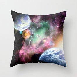 Dawn Sisters Throw Pillow