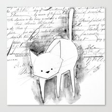 minima - deco cat Canvas Print