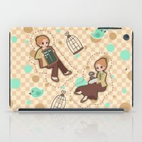 bioshock iPad Cases featuring Bioshock Infinite - Luctece Twins by Choco-Minto