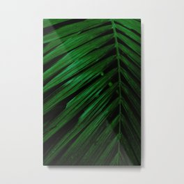 Green is the new black foliage photograhy no 4 Metal Print