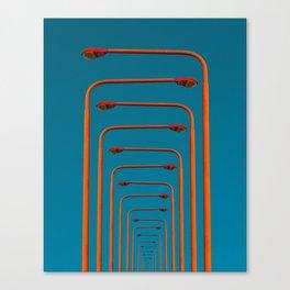 of light poles III Canvas Print