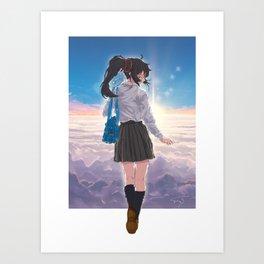 Sleep Walk Art Print