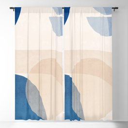 Abstract Art / Shapes 37 Blackout Curtain