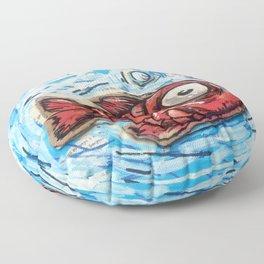 Red Fish Floor Pillow