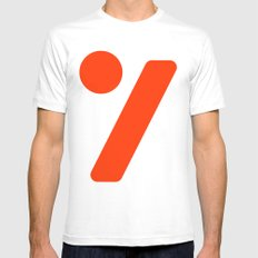 seven  Mens Fitted Tee MEDIUM White