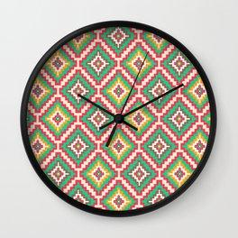Indi-abstract#08 Wall Clock