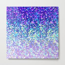 Glitter Graphic G209 Metal Print