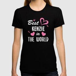 Kenzie Name, Best Kenzie in the World T-shirt