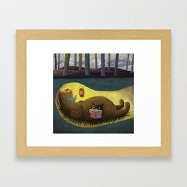 Hibernation Time Framed Art Print