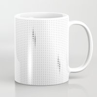 dots Mugs featuring Dots by rob art | simple