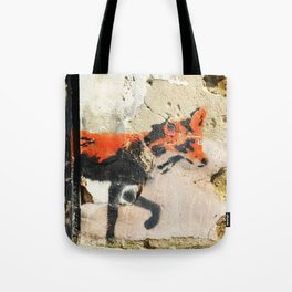 Sneaky Little Fox Tote Bag