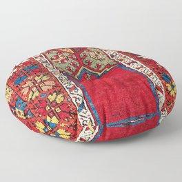 Mujur Central Anatolian Niche Rug Print Floor Pillow