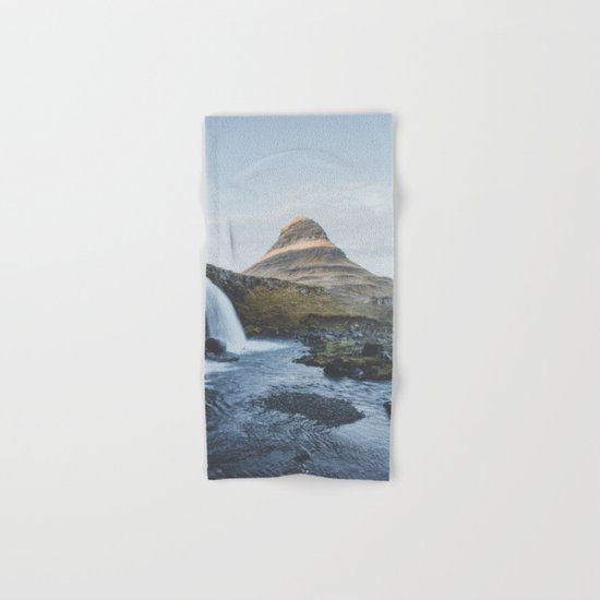Kirkjufell II, Iceland Hand & Bath Towel