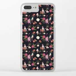Eastern delight Japanese garden Clear iPhone Case