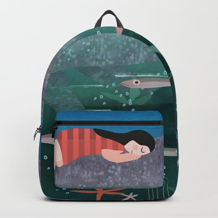 Dream With The Whale Backpack