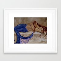 sublime Framed Art Prints featuring Sublime by Rebecca Glaze