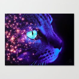 Hunter of the Night Canvas Print