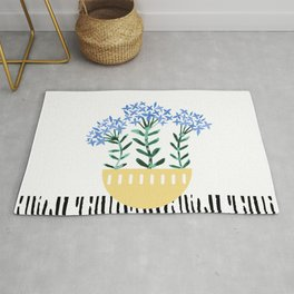Potted Plant 5 Rug