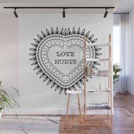 Love hurts Wall Mural