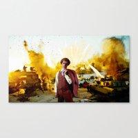 napoleon dynamite Canvas Prints featuring Action Exsplosions :Napoleon Dynamite by Silo Louis