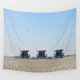 Venice Beach Views Wall Tapestry