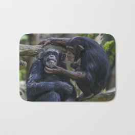 Honor Thy Mother and Father Bath Mat