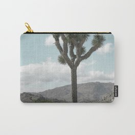 Joshua Tree On A Calm Cool Day Carry-All Pouch