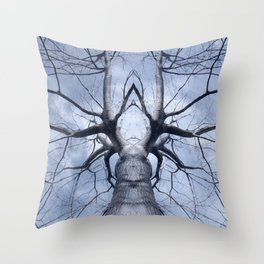 Magic Tree III Throw Pillow
