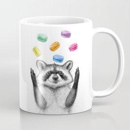 raccoon with cookies Coffee Mug