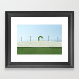 Curaçao - Silo Framed Art Print