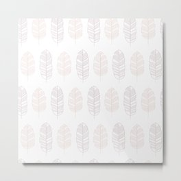 Tropical pattern 011 Metal Print