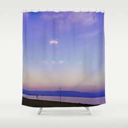 Ed è subito sera (And suddenly it is evening) Shower Curtain