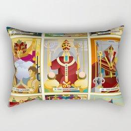 tarot major arcana cards Rectangular Pillow
