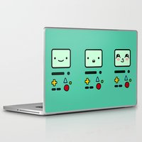 bmo Laptop & iPad Skins featuring BMO by Janice Wong