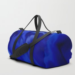 Dark Blue and silver waves Duffle Bag
